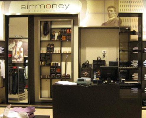 Sirmoney Abbigliamento allestimento Punto Vendita