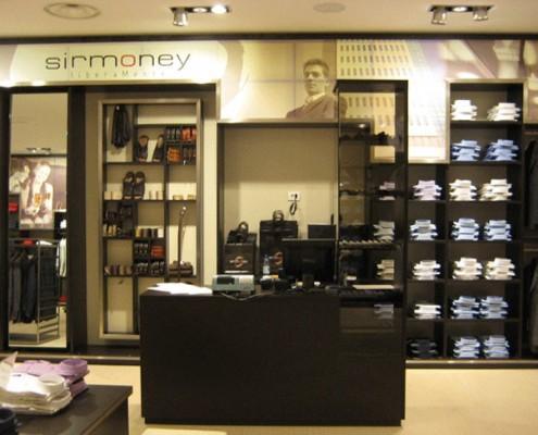 Sirmoney Abbigliamento - Allestimento Punto Vendita Roma interno 3