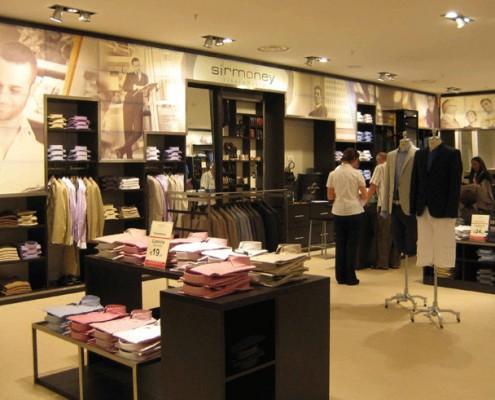 Sirmoney Abbigliamento - Allestimento Punto Vendita Roma interno 4