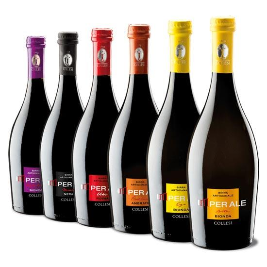 Birre Collesi - Creazione Packaging Etichette