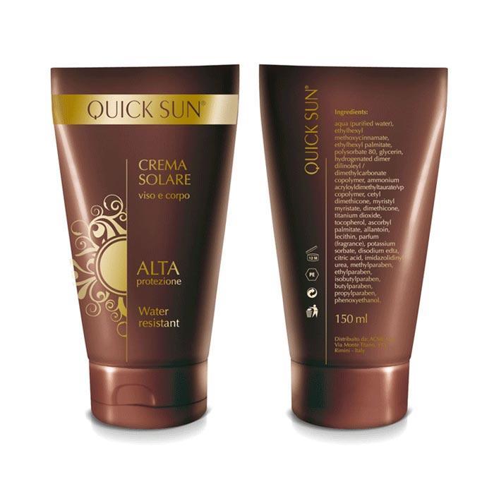 Grafica Packaging Crema Solare - Quick Sun