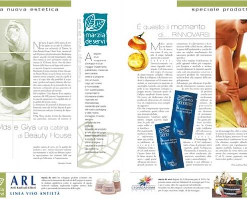 Interno Estetica Olistica - F.G. Cosmetics Milano 2