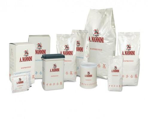Grafica Packaging Confezioni Caffè Nannini