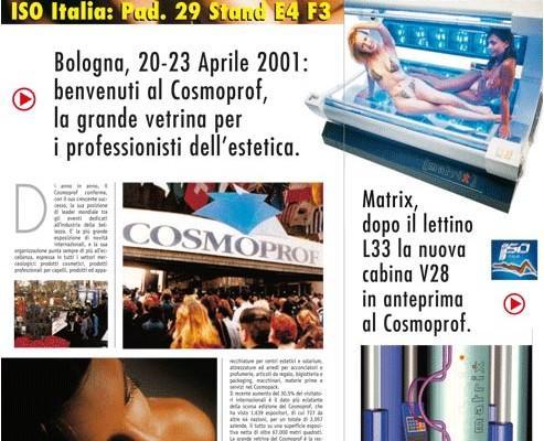 """Solaria News """"Speciale Cosmoprof"""" - ISO Italia"""