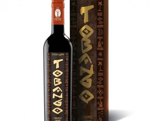 Packaging Liquore Tobango Collesi Distillati