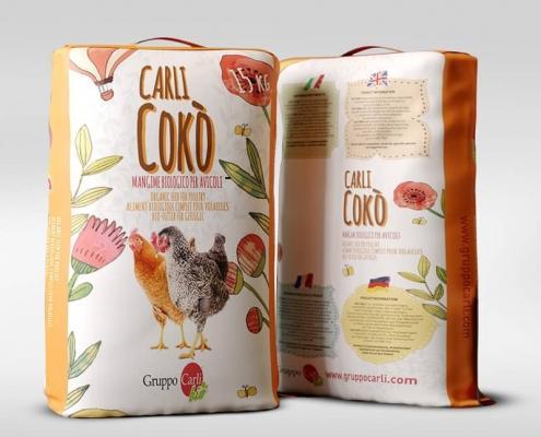 Grafica Packaging Mangimi BIO Gruppo Carli 2