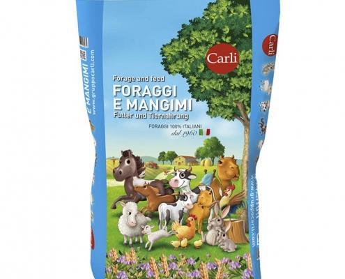 Packaging Mangimi e Foraggi Gruppo Carli