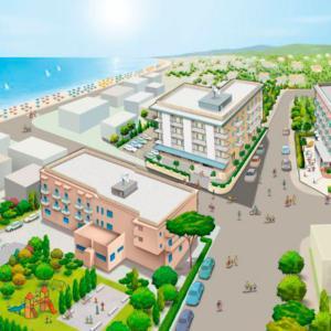Mappa illustrata Hotel Conti Estate