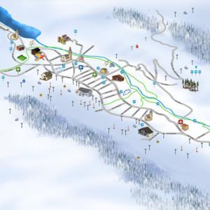 Mappa illustrata Livigno