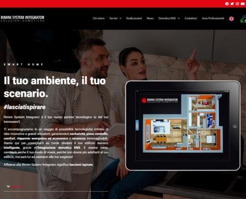 Realizzazione Sito Web Rimini System Integrator