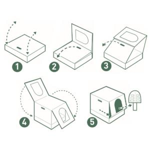 illustrazioni montaggio packaging